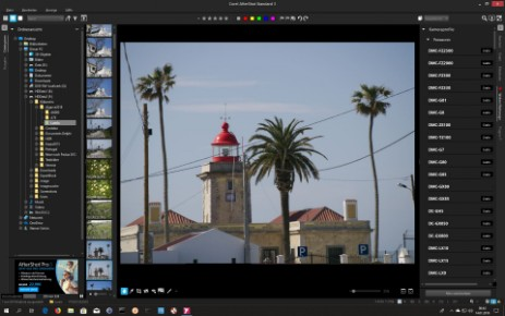 Corel aftershot screenshot